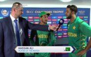 पोस्ट मैच सेरेमनी में हिंदी में बोले हसन अली