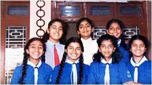 शिल्पा शेट्टी बचपन की फोटो