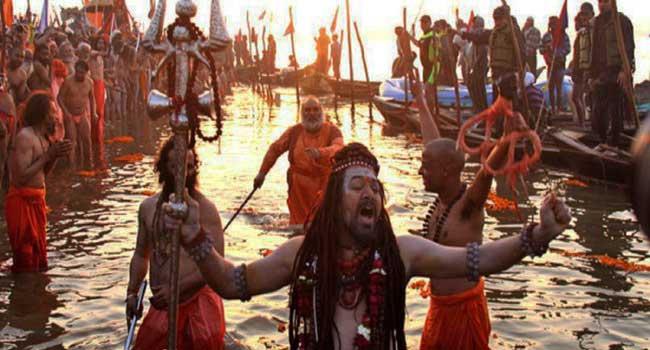 Ardhkumbh-Mela-Allahabad-Hindi इलाहबाद अर्धकुम्भ क्यों मनाया जाता है