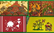 Bhartiya-Lok-Kalayen-Lok-Kala-Art-Paintings-Gyan-India भारतीय लोक कलाएं - लोक कला ज्ञान इंडिया में