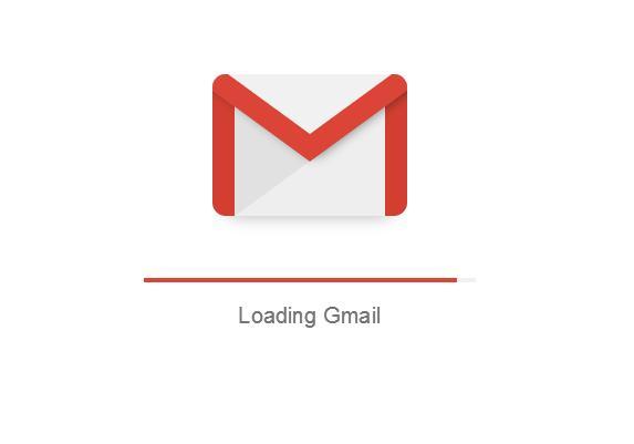 अब आप जीमेल के इनबॉक्स में प्रवेश कर रहे हैं