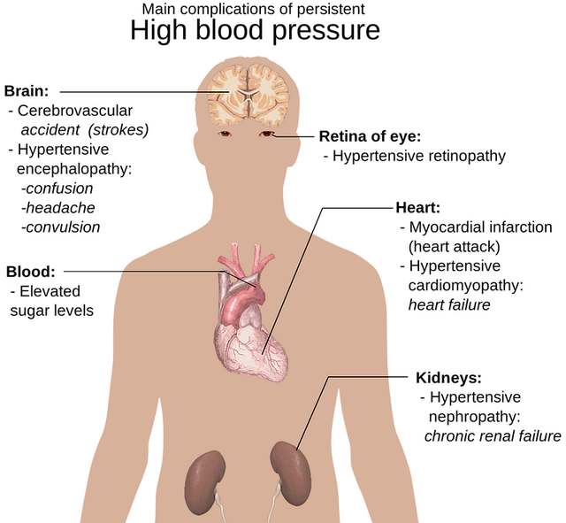 main-complications-of-persistent-high-blood-pressure